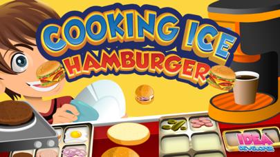 Cooking Hamburger Ice - Games Maker Food Burger