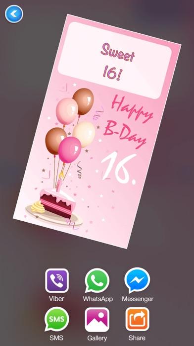 誕生日 カード 編集者 無料 - 作ります グリーティングカード そして 招待状紹介画像4