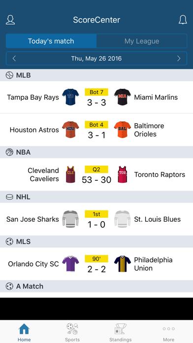 ScoreCenter LIVE screenshot one