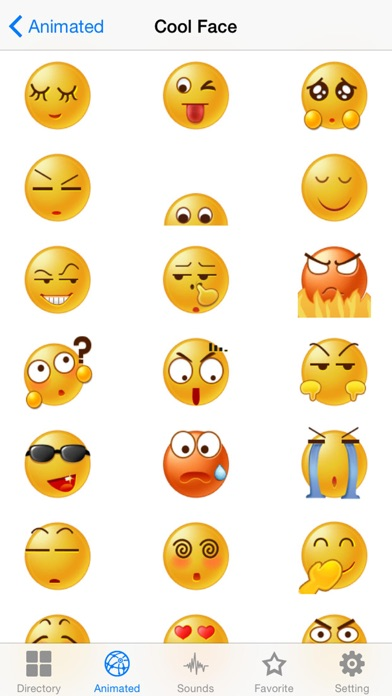 New Emojis & Smileys animated text icons emoticons-2