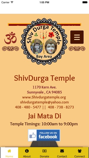 Shiv Durga Temple Sunnyvale on the App Store