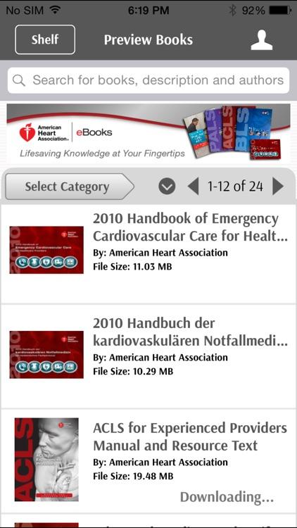 AHA eBook Reader screenshot-3
