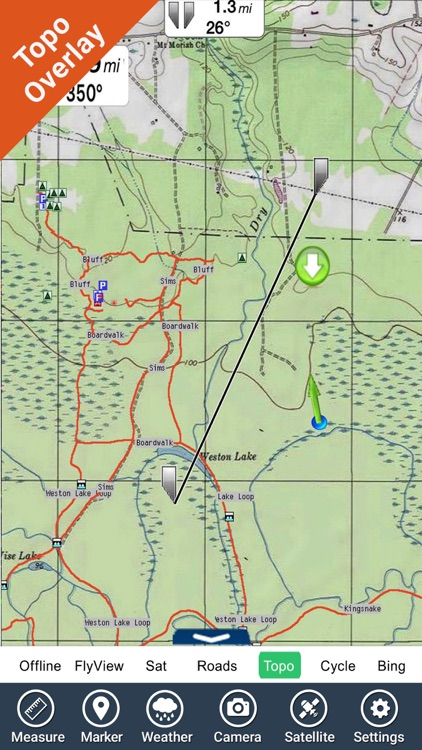 Ozark National Scenic Riverway - GPS Map Navigator screenshot-0