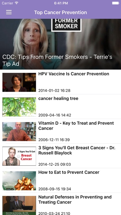 Cancer Research News & Prevention Info Pro screenshot-4
