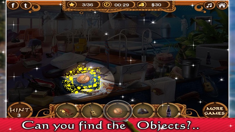 The Secret Mission - Hidden Objects game for kids and adults screenshot-3