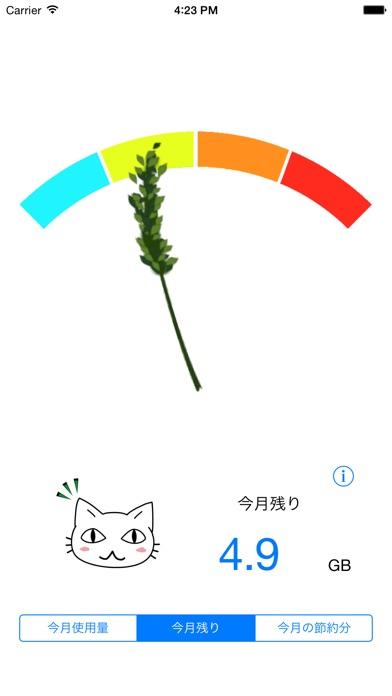 パケ代にゃんこ紹介画像2