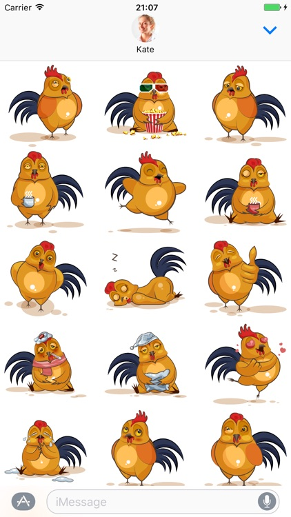 Cock - Stickers for iMessage
