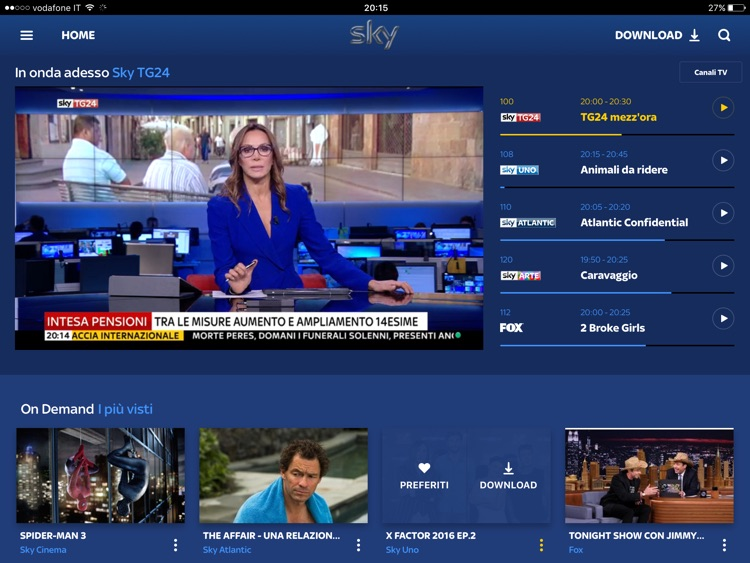 Sky Go screenshot-0