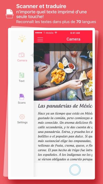 Screenshot #1 pour Scanner et Traducteur – traduction de la photo