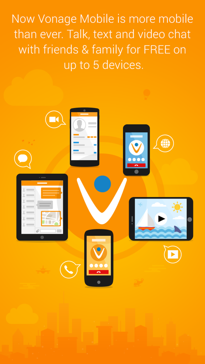 Vonage Mobile – Voice, Text, and Video Screenshot
