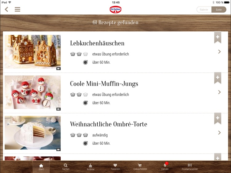 Dr. Oetker Rezeptideen - Tablet Version screenshot-3