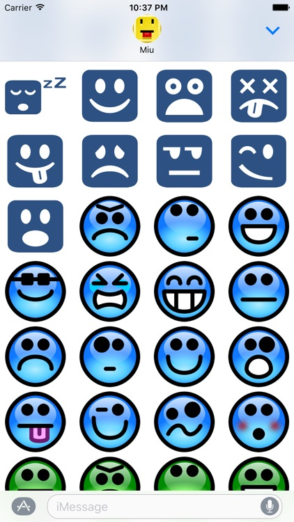 Lotsa Smileys for iMessage screenshot-4