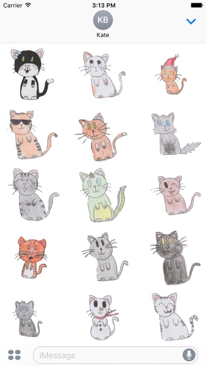 Sock Cat Stickers