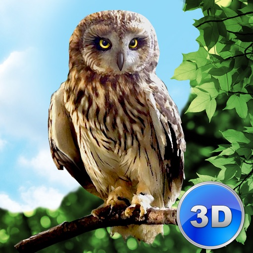 Forest Owl Simulator Full - Be a wild bird! icon
