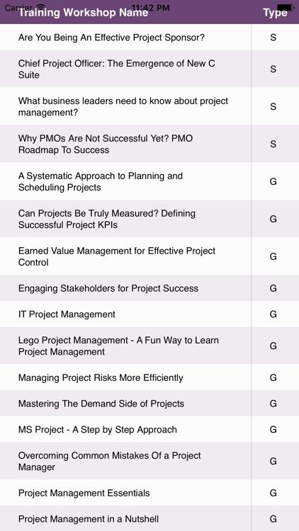 Project Management Convention