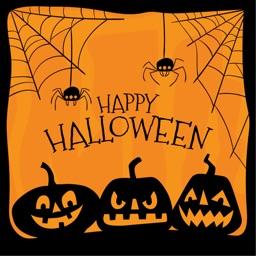 Halloween Stickers - Halloween Elements