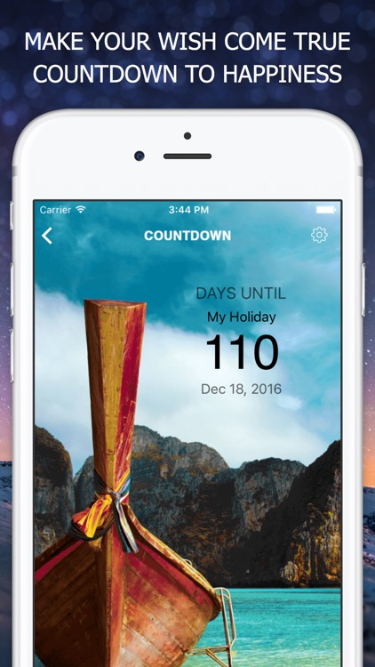 Event Timer Countdown by Day Counter – How Many Days Until your Birthday and Vacation Organizer