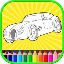 Bebekler çocuk Boya Ve Renk Oyunu Kitap Araba Boya App Storeda