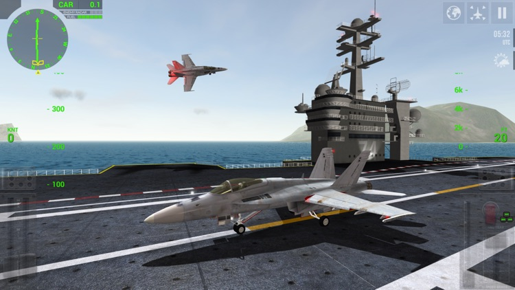 F18 Carrier Landing Lite screenshot-0