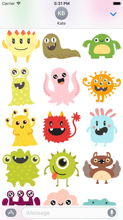Animal Cute Sticker - Emoji
