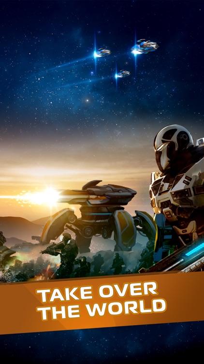 Battle Dawn: Earth Arena – MMO RTS War Game screenshot-4