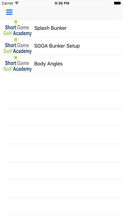 Short Game Golf Academy screenshot-3