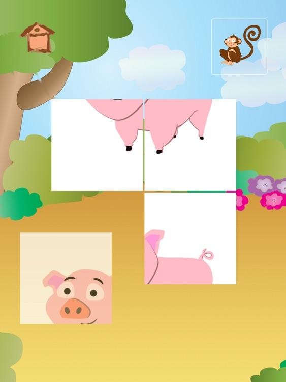 Animal Tiles for Kids HD screenshot-4