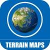 Terrain Maps of World