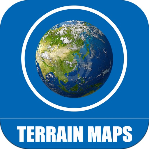 Terrain Maps of World