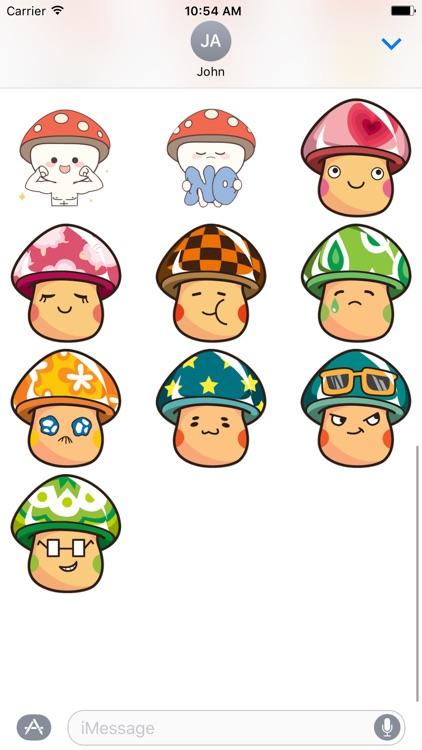 Mushroom Cute -  Fc Sticker screenshot-3