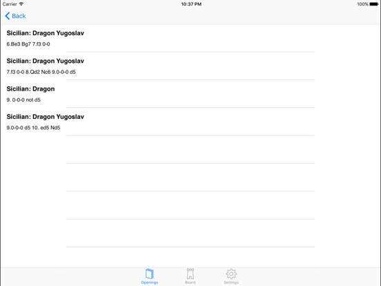 Screenshot #5 pour Encyclopedia of Opening