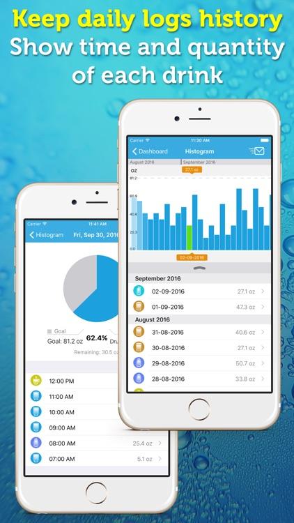 WaterPrompt - Water Intake Tracker & Reminders screenshot-3
