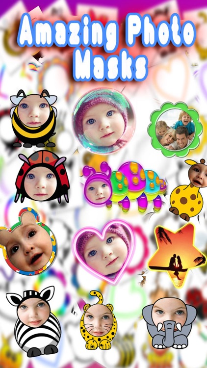 Baby Faces Photo Frames and Stickers screenshot-3