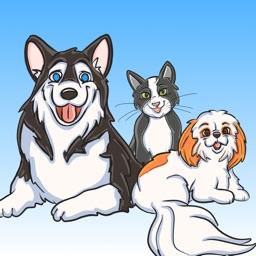 Pets Sticker Pack