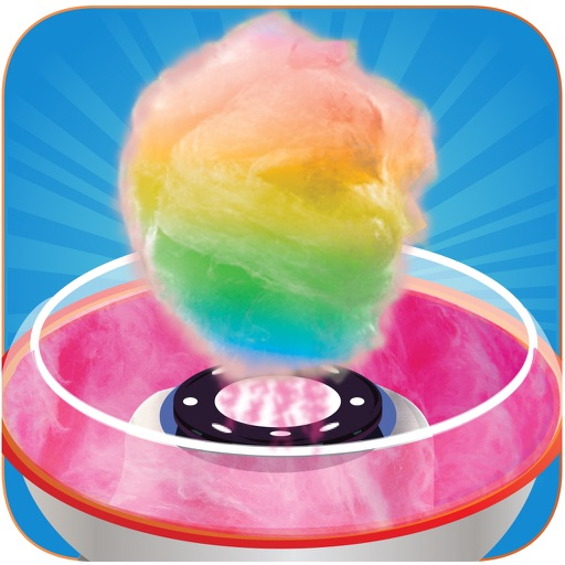 Rainbow Cotton Candy Maker Pro
