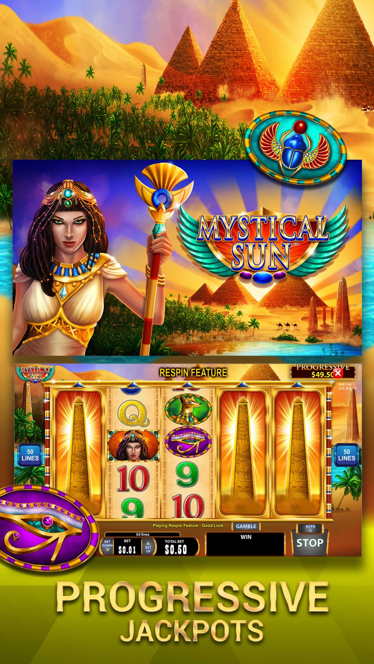 San Manuel Slots Screenshot