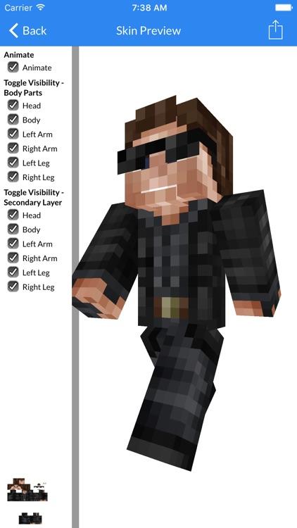 Skins For Minecraft PE - New Best Skins For Minecraft Pocken Edition