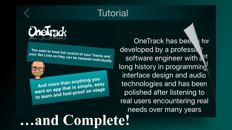OneTrack - Backing Tracks for Pros screenshot-3