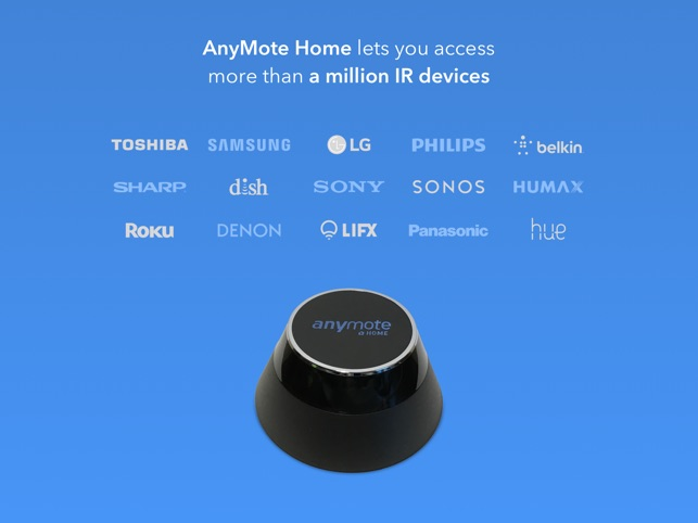 AnyMote Smart Universal Remote on the App Store