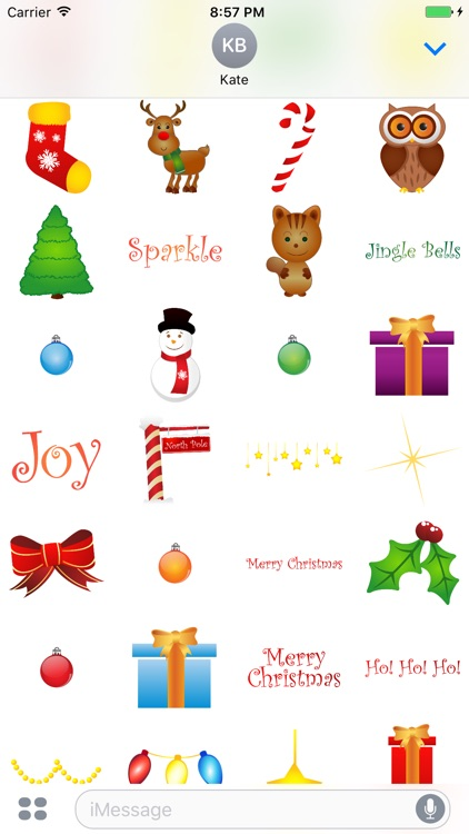 XMas Stickers - Christmas Bitmoji for iMessages by Minh Nguyen