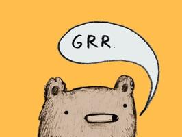 A bear doing a bunch of random stuff