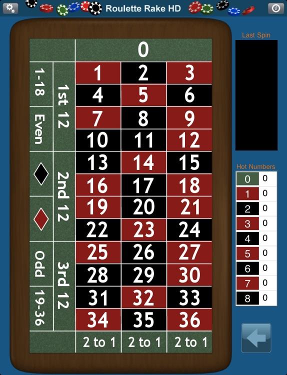 Roulette Rake HD screenshot-4