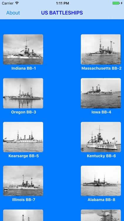 Battleships of the U.S Navy