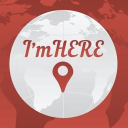 I'mHERE - Знакомства, общение, чаты на карте