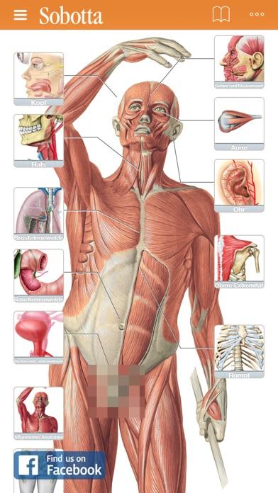 Screenshot for Sobotta Anatomie Atlas in Germany App Store