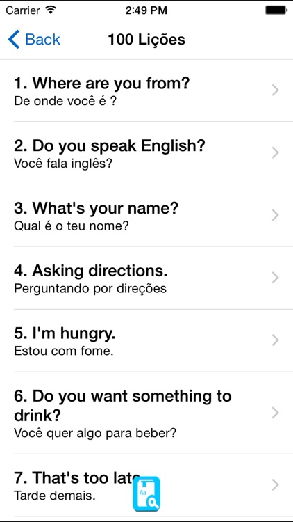 English Study Pro for Portugese - Aprender Inglês screenshot-3