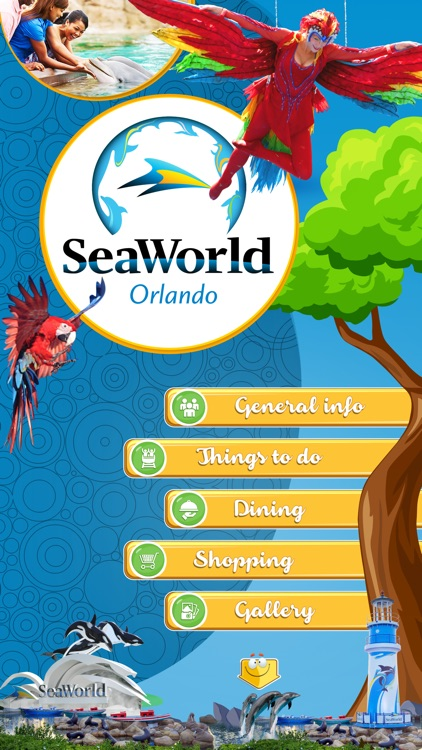 Great App for SeaWorld Orlando