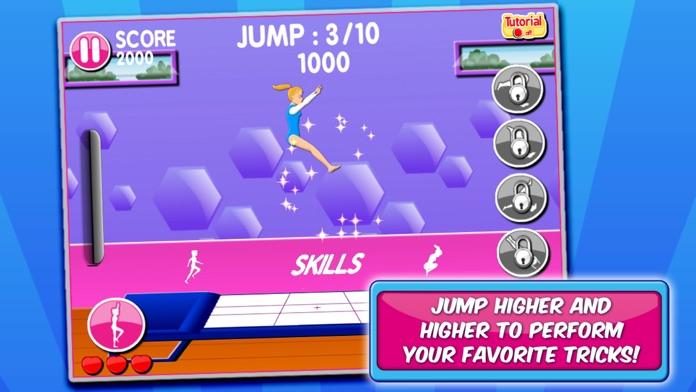 Gymnastic & Dance Girls Game Screenshot