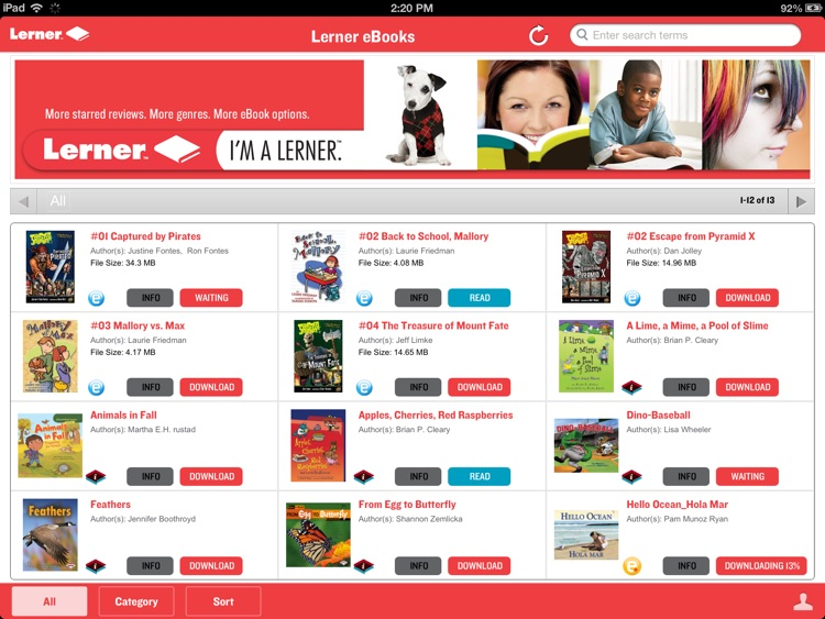 Lerner Digital eReader screenshot-1