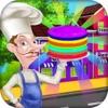 彩虹煎饼餐厅 - 匹配&堆栈它